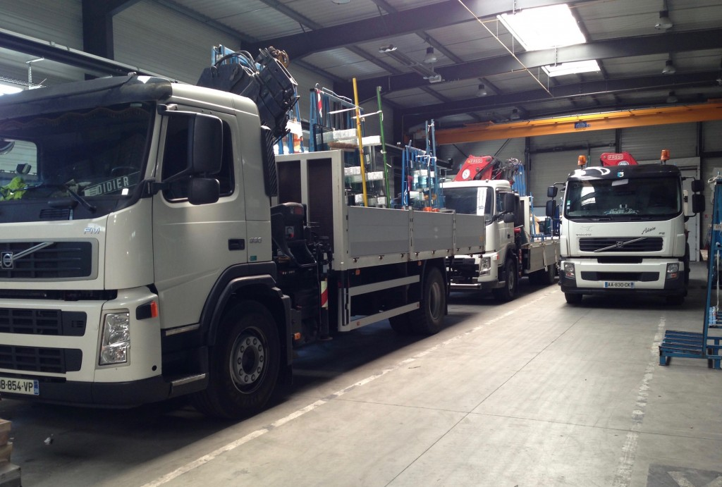 flotte véhicules EUROVITRAGE