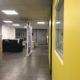 Nouveaux bureaux d'accueil tout en transparence