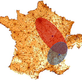 carte france zone chalandise